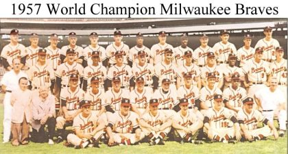 historia de los Atlanta Braves Milwaukee Braves 1957 campeones de las world series series mundiales