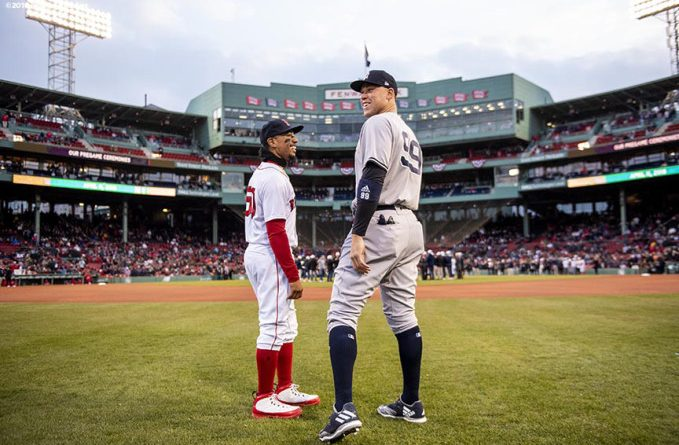 ALDS: Yankees vs Boston, desde los ojos del rival mookie betts Aaron judge mlb