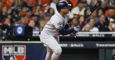 los new york yankees golpean primero final liga americana 2019 houston astros beisbol mlb