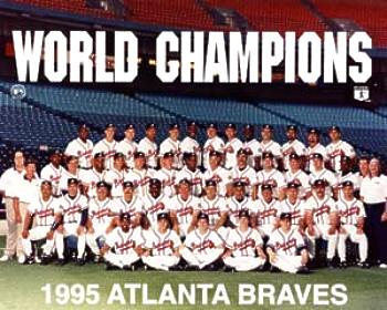 historia de los Atlanta Braves 1995 campeones de las series mundiales World Series