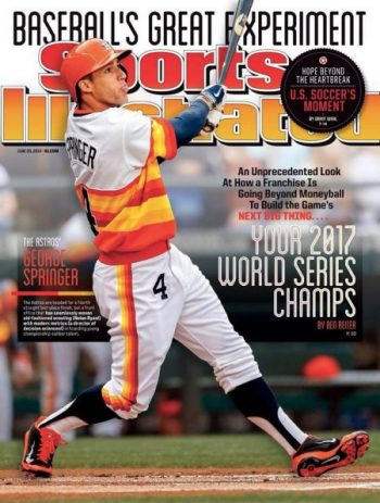 Los Houston Astros campeones de las Series Mundiales 2017 sports illustrated portada del año 2014 junio mlb beisbol
