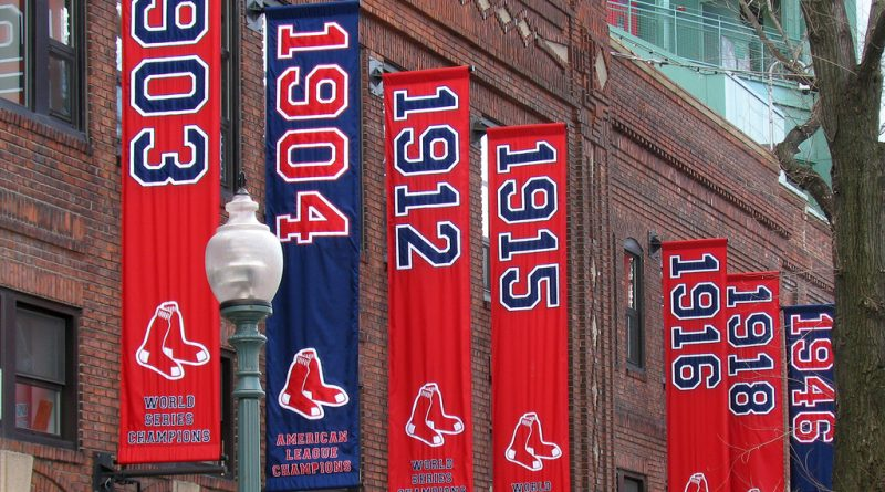 titulos de campeones de los Boston red sox