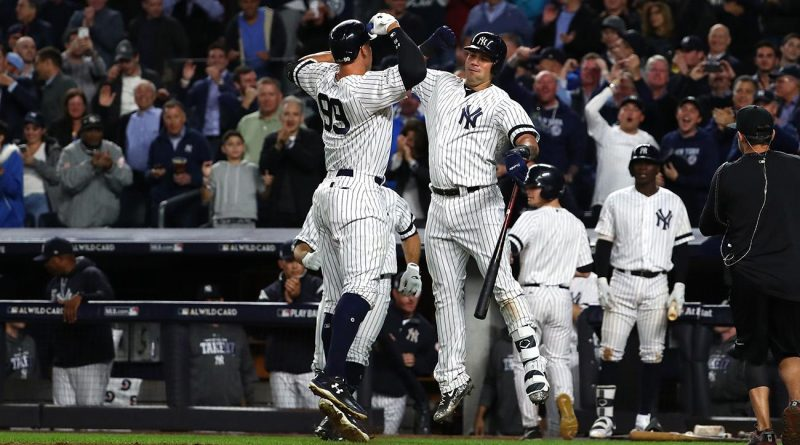 Yankees, se sacuden del fantasma de la eliminación. ALDS Game 2: Boston Red Sox - New York Yankees mlb