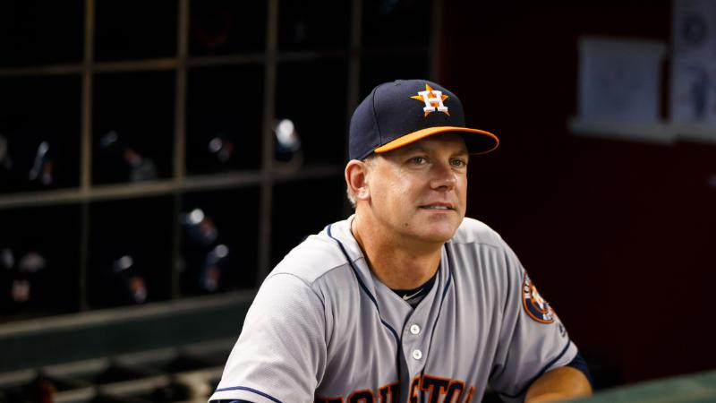 A.J. Hinch (Mark J. Rebilas USA TODAY Sports) houston astros 2018