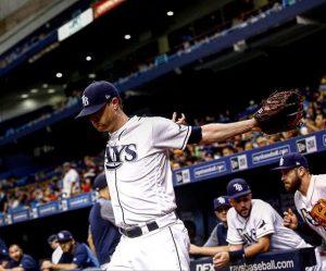 Balance de temporada 2017: Tampa Bay Rays Alex Cobb, el lanzador titular con mejor rendimiento de la temporada.