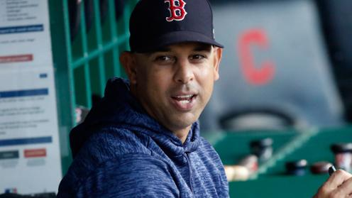alex cora SDLA Red Sox vs Yankees: Calcetines Latinos boston red sox mlb