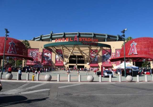 Angel Stadium Los Angeles Angels 2018
