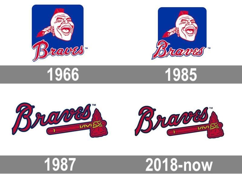 logos atlanta braves historia mlb en español beisbol logo