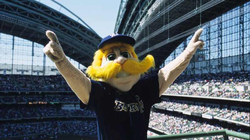 Bernie Brewer milwaukee brewers mlb en español beisbol cerveza cerveceros mascota