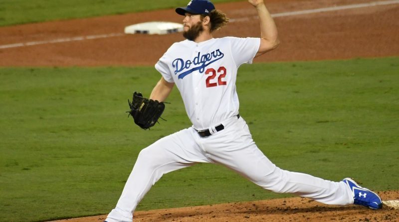 Clayton Kershaw los angeles dodgers Atlanta braves mlb 2018 playoff