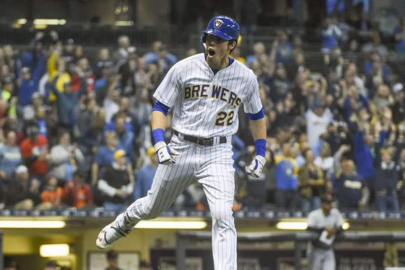 Christian Yelich milwaukee brewers 2020 beisbol mlb