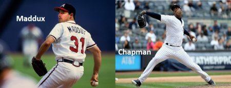 De Maddux a Chapman, la evolución de la velocidad de los lanzadores