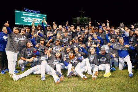 Los Ángeles Dodgers, campeones de la Liga Nacional Series de Campeonato Liga Nacional: Los Ángeles Dodgers en las Series Mundiales 29 años después