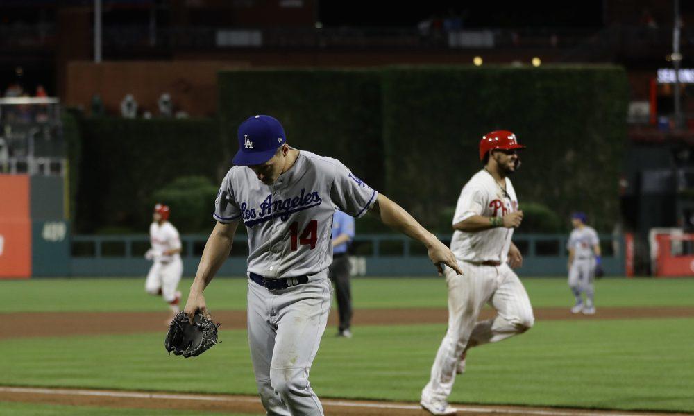 Kike Hernandez pitching La mala imagen de los bateadores lanzadores