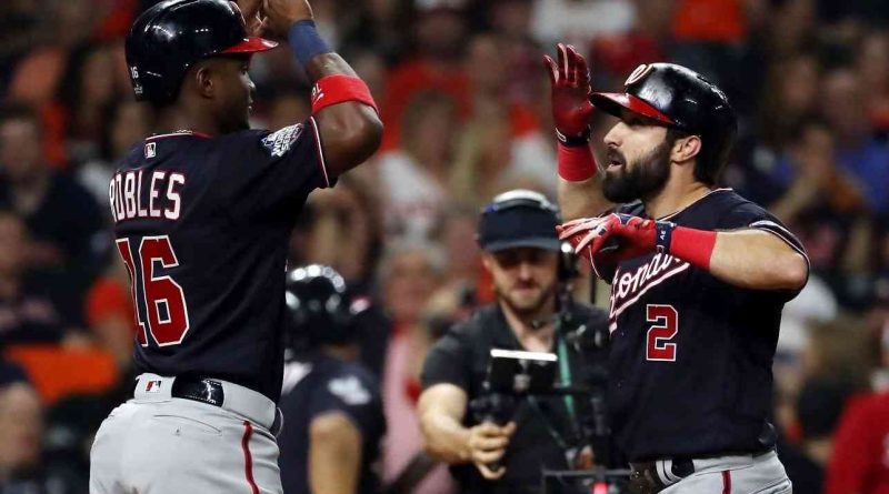 houston tenemos un problema astros washington nationals series mundiales 2019 partido 2 game 2 beisbol mlb
