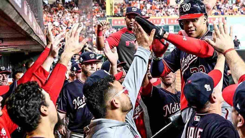 WS GAME 2: ¡Houston, tenemos un problema! astros washington nationals series mundiales 2019 world series beisbol mlb