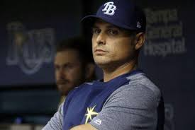 Kevin Cash, manager de los tampa bay Rays (MLB)