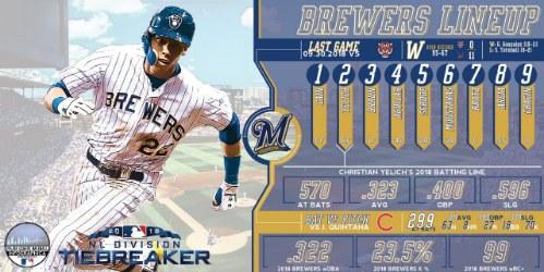 Brewers ganan la División Central Nacional Cubs MLB