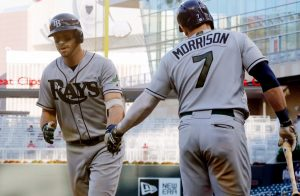Balance de temporada 2017: Tampa Bay Rays Evan longoria logan Morrison