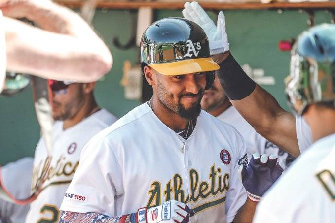 Marcus Semien athletics beisbol mlb