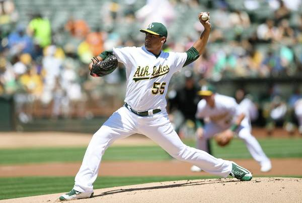 Sean Manaea oakland Athletics beisbol mlb