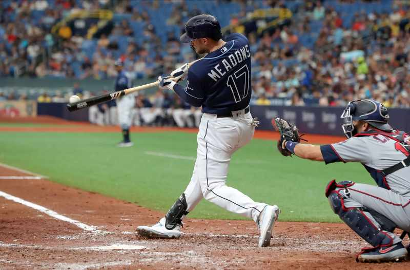 Austin Meadows tampa bay rays 2020 beisbol mlb