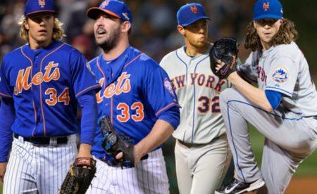 rotación de los pitchers Mets del año 2017
