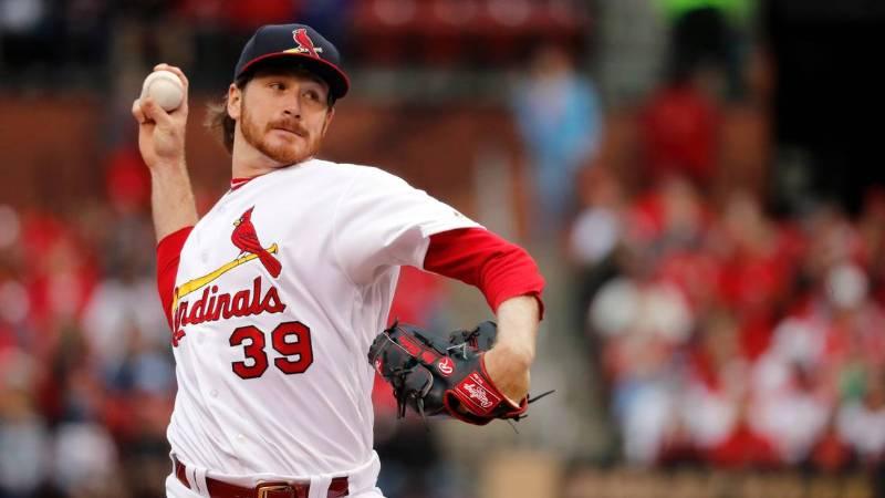 miles mikolas saint louis cardinals 2020 beisbol mlb