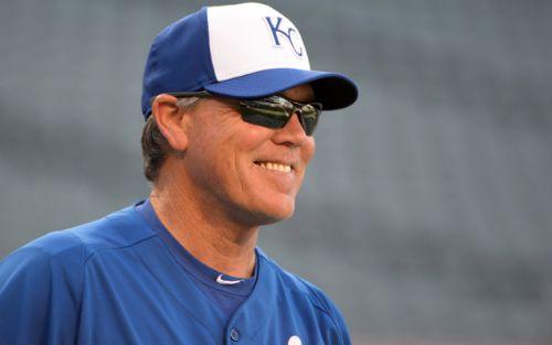 Ned Yost, manager de los Royals kansas city royals 2019 mlb beisbol