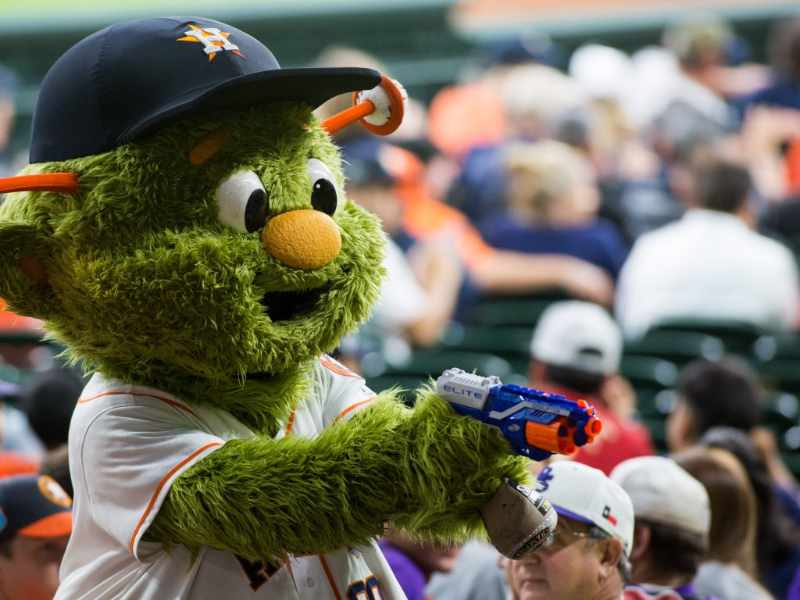 orbit mascota houston astros beisbol mlb