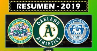 oakland Athletics 2019 resumen de la temporada 2019 beisbol mlb