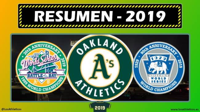 oakland Athletics 2019 resumen de la temporada 2019 beisbol mlb