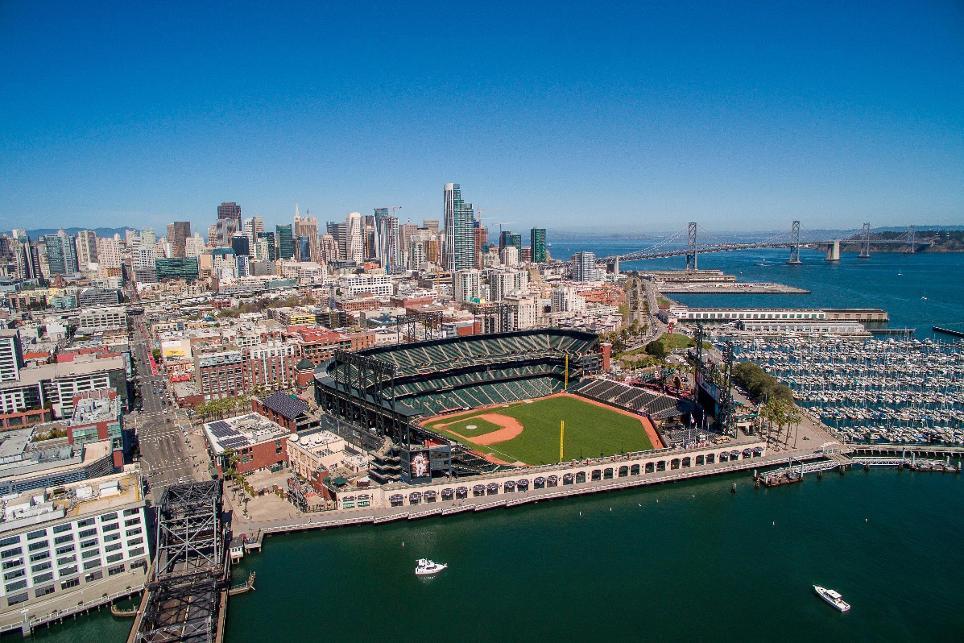 El AT&T Park, hogar de los San Francisco Giants (Foto: MLB.com)