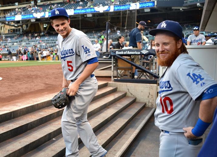 Los Dodgers tuvieron que afrontar el inicio de temporada sin Corey Seager y sin Justin Turner Los Dodgers van (muy) en serio a por el título