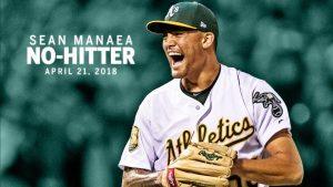 Sean Manaea y su No-hitter.