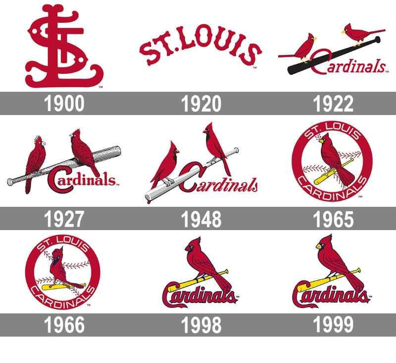 saint louis cardinals mlb en español logos logo historia beisbol