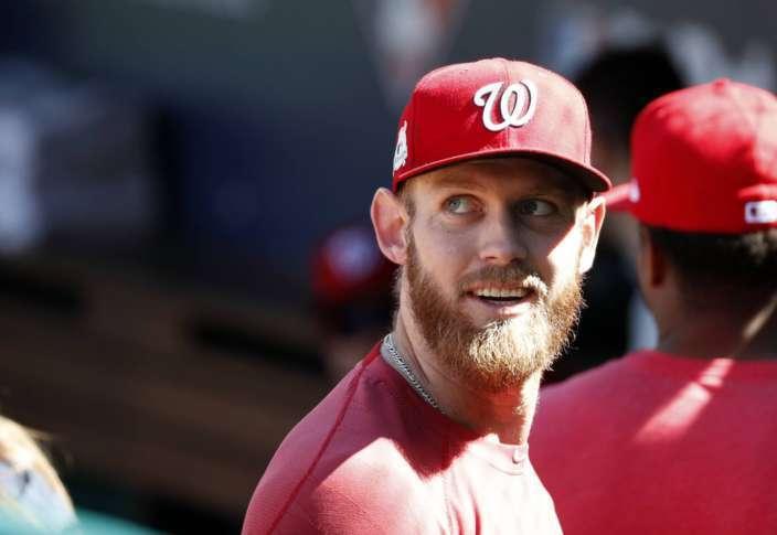 Stephen Strasburg será el encargado de lanzar el primer encuentro de la serie para Washington Previa Series de División Liga Nacional: Washington Nationals Chicago Cubs mlb postseason