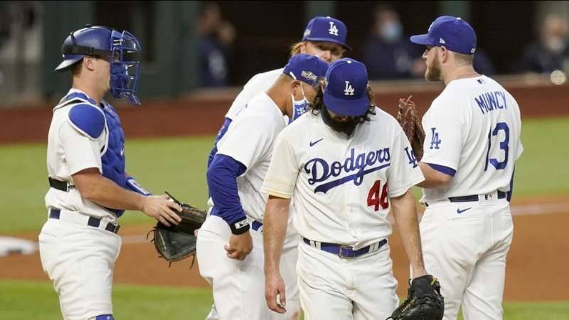 tony gonsolin atlanta braves gana a los dodgers mlb en español beisbol