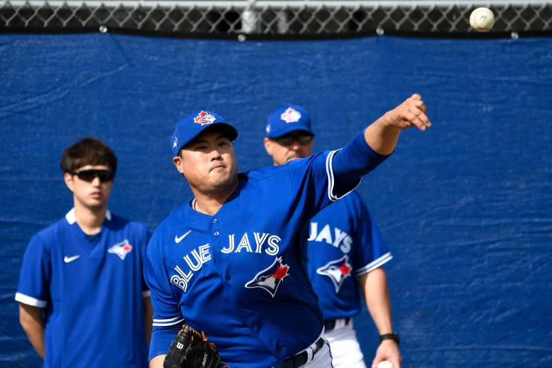toronto blue jays 2020 beisbol mlb Hyun-Jin Ryu