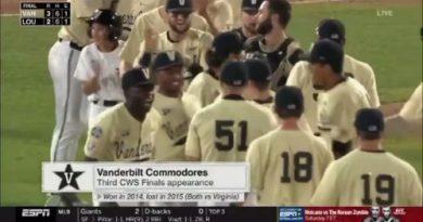 CWS 2019: El camino a la final Vanderbilt se clasifica para las CWS red