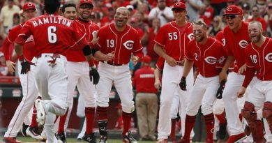 Cincinnati Reds. Resumen Temporada 2018 mlb béisbol