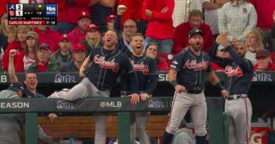 nlds g3 braves cardinals bravos cardinals beisbol mlb