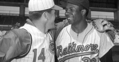 Frank Robinson Paul Shane tributo mlb béisbol