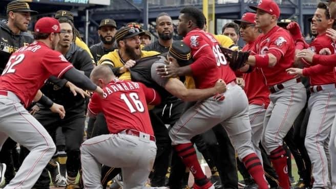 Rojos de ira y frustración los reds de Cincinnati beisbol mlb beisbolmlb