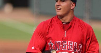 mike trout mejores jugadores de la historia del beisbol mlb los angels