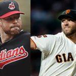 Corey Kluber a Rangers y Madison Bumgarner a D-backs beisbol mlb