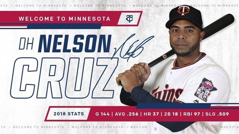 Minnesota Twins 2019 beisbol mlb beisbolmlb nelson cruz