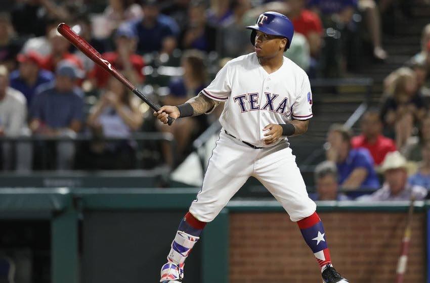 Willie Calhoun, outfielder de los Texas Rangers, quien llegó a Arlington en el traspaso de Yu Darvish a Dodgers. Análisis de los mejores Prospectos MLB del 2018