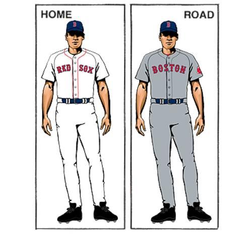 uniforme boston red sox mlb en español beisbol historia