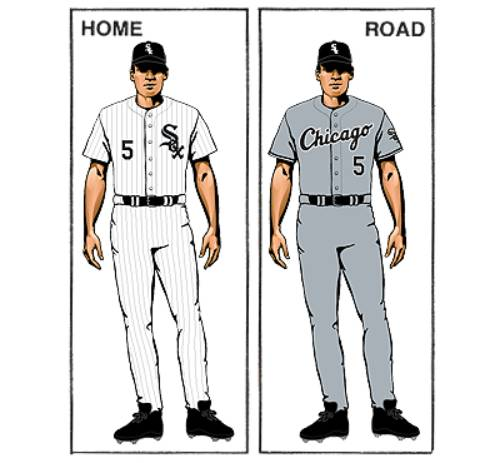 uniforme chicago white sox mlb en español beisbol
